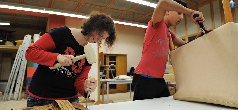 Vorqualifizierungsjahr Arbeit und Beruf im Pestalozzi Kinderdorf